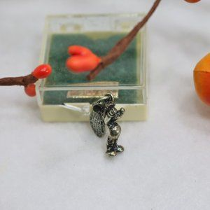 Vintage Mickey Mouse Charm Silver